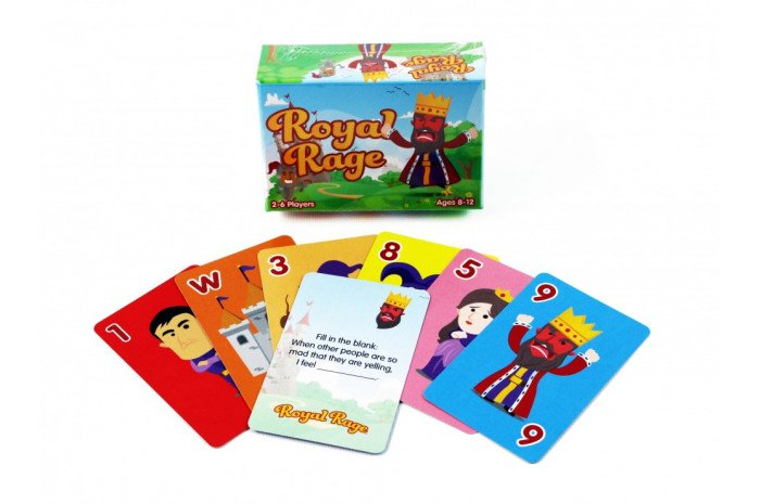 Royal Rage: The Fun Anger Management Card Game