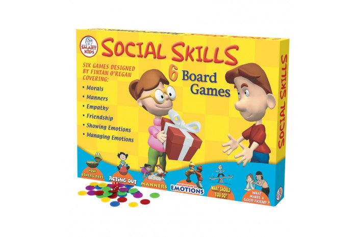 Social Skills Board Game - 6 games in one!