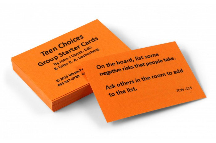 Teen Choices Card Deck