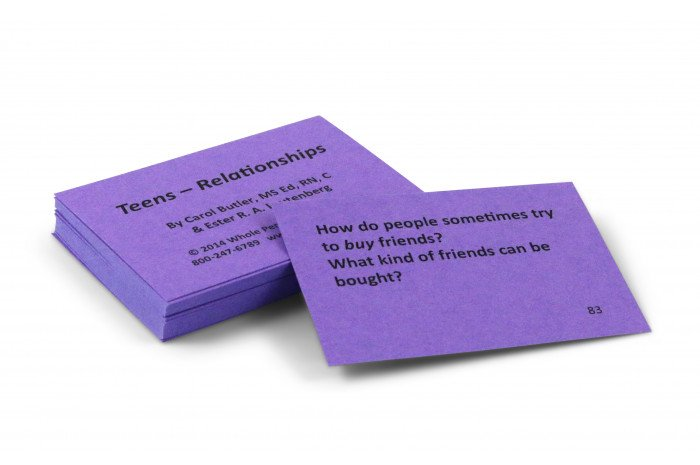 Teen Relationships Group Starter Card Deck