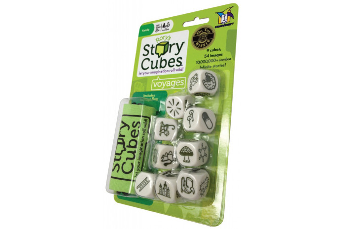 Travel Story Cubes- Voyages