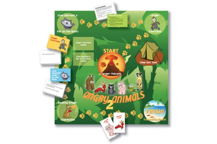 Angry Animals 2 Board Game