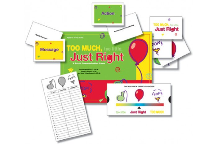 Too Much, Too Little, Just Right: Social Communication Game