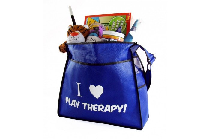 I Heart Play Therapy Tote Bag