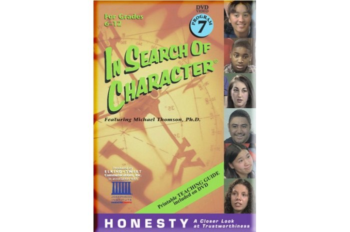 In Search of Character: Honesty DVD