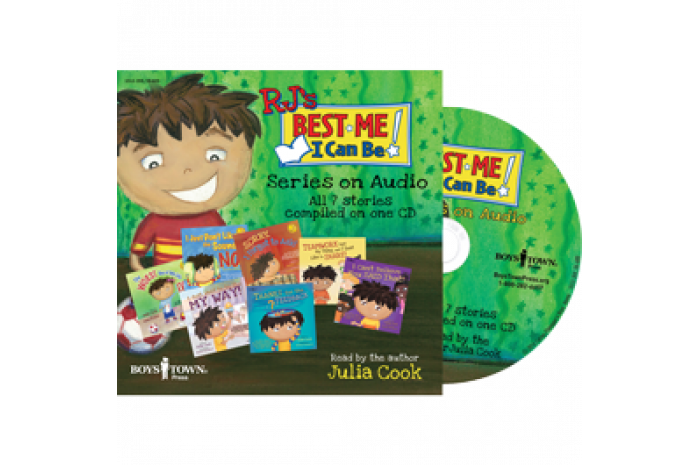 Julia Cook's RJ Series Audio CD: 7 Audiobooks on CD