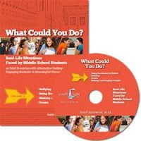 What Could You Do? DVD: Real Life Situations Faced by Middle School Students Volume 1
