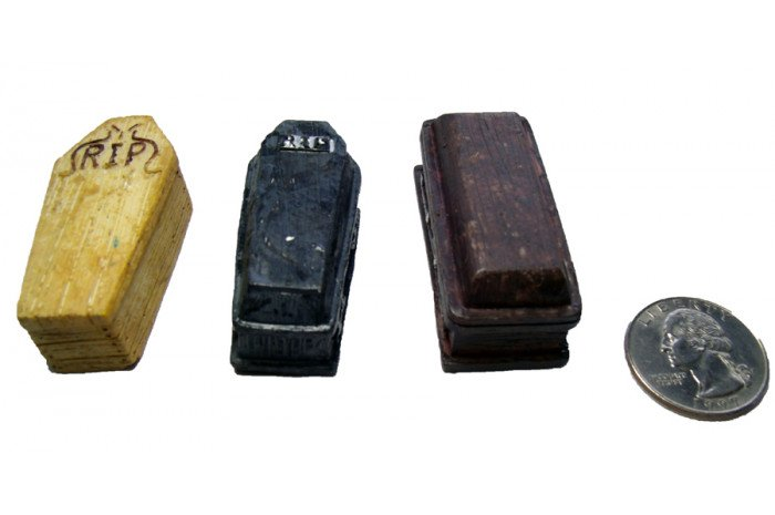 Coffins- Set of 3