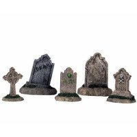 Tombstones - set of 5