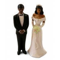 Bride and Groom (African American)