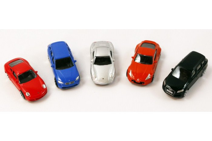 Die Cast Street Cars (5 piece)