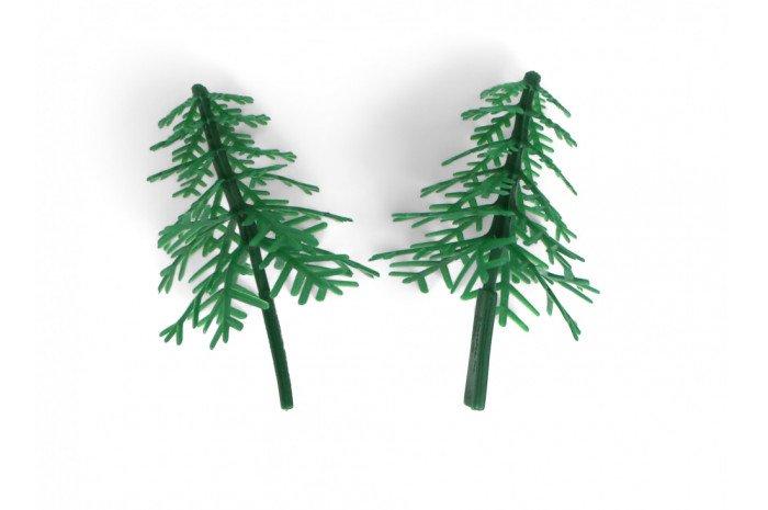 Evergreen Trees (Set of 2)