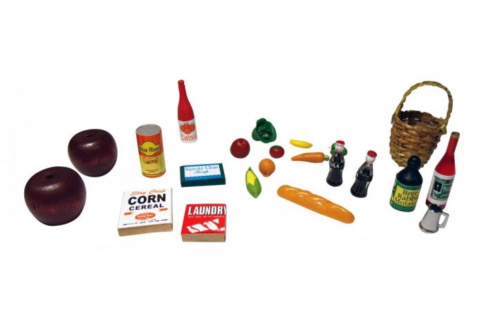 Sand Tray Miniatures - Food Kit