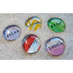 Coping Skills Glass Gems