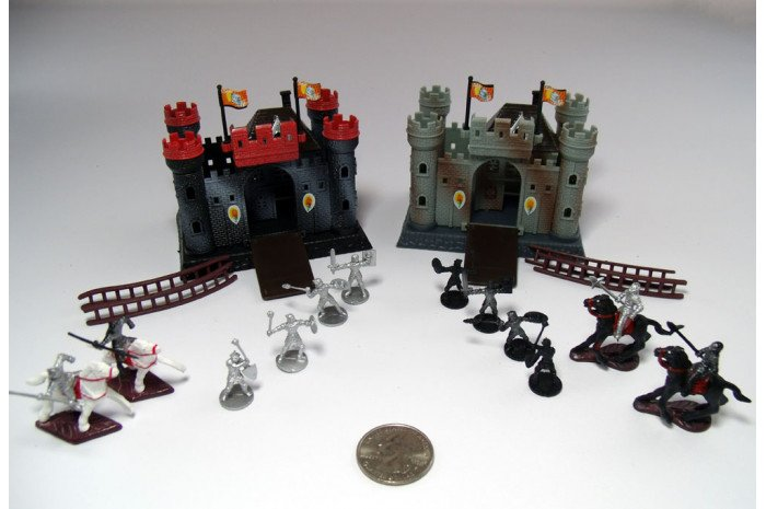 Castles & Knights Miniatures Set