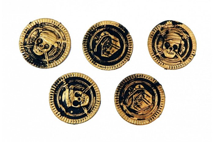 Pirate Coins (Set of 5)
