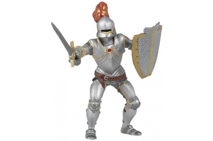 Knight with Red Feather