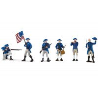 Continental Army Soldiers Toob- Set of 6