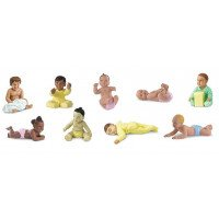 Babies Toob- 9 pieces