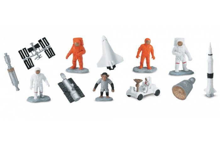Space Toob- 12 piece