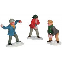 Snowball Fight (3 Figures)
