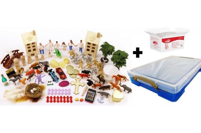 Sandplay Miniature Basic Starter Kit - Full Package