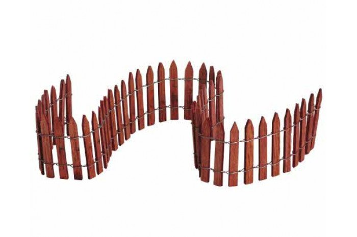 Miniature Wooden Wire Fence