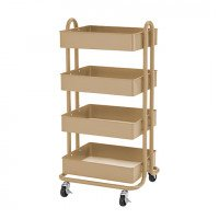 Four Shelf Rolling Storage Cart