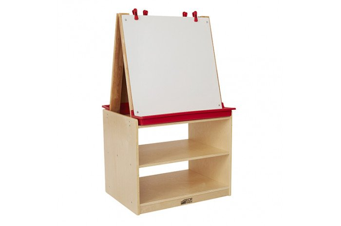 2 Station Art Easel with Storage