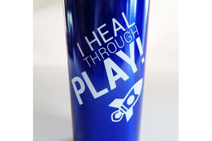 I Heal Through Play Sport Bottle