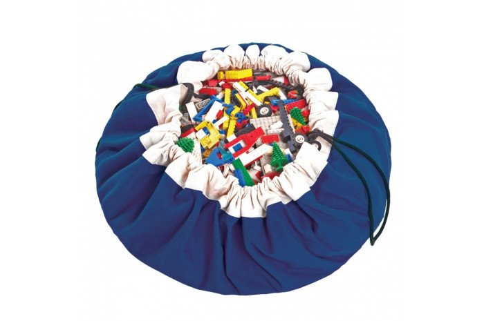 Play & Go Drawstring Blue Bag