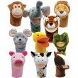 Bigmouth Animal Puppets (Set of 10)