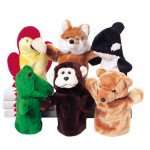 Exotic Animal Puppet Set