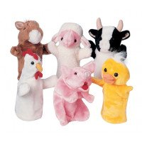 Farm Animal Puppet Set