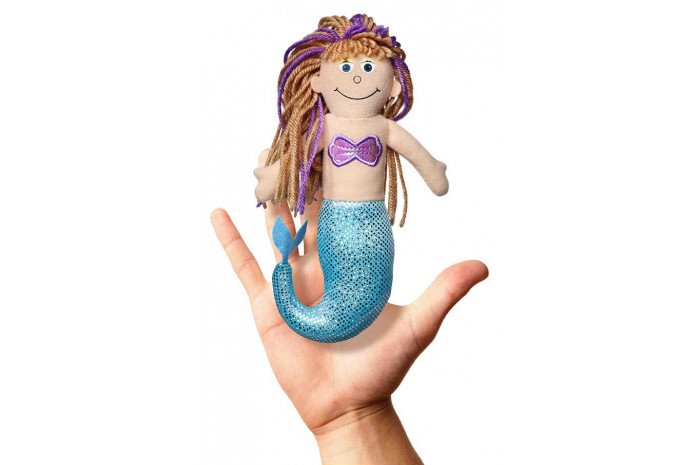 Mermaid Finger Puppet