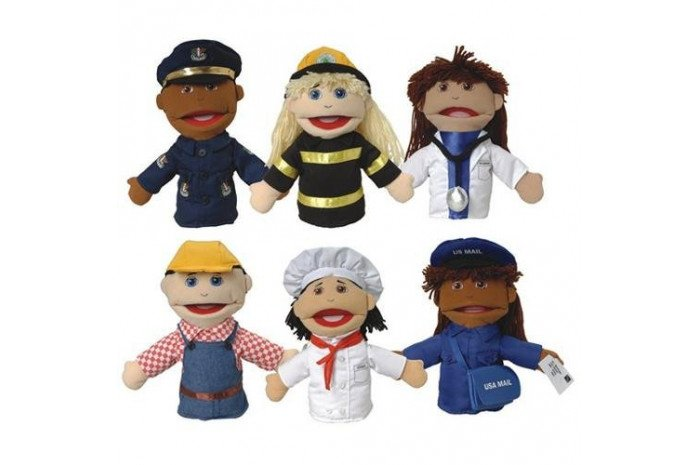 Career Puppets- Set of Six