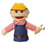 Small Construction Worker Puppet