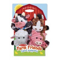 Farm Friends Hand Puppets (Melissa and Doug)