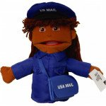Small Mail Carrier Puppet