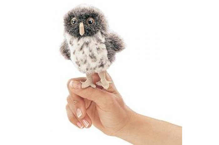 Mini Spotted Owl  Puppet