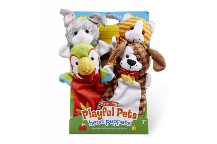 Playful Pets (4 Puppet Set)