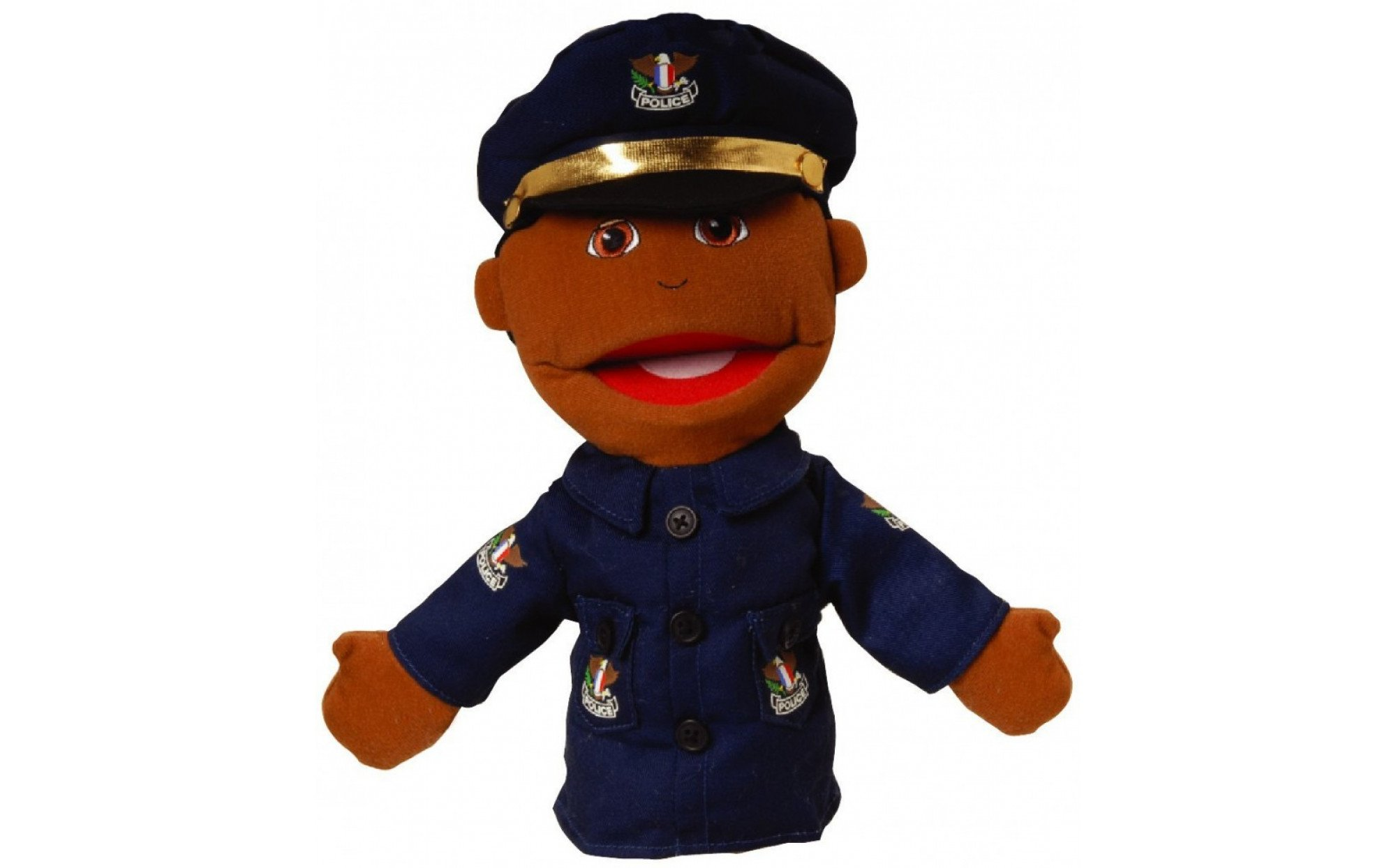 Small Police Officer Puppet Puppets