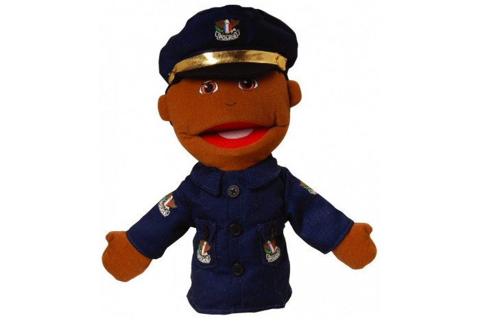 Small Police Officer Puppet