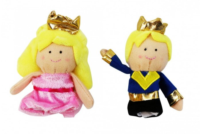 Prince and Princess Finger Puppets