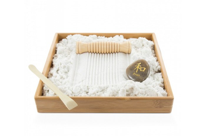 Desktop Zen Sand Tray: Inner Reflections