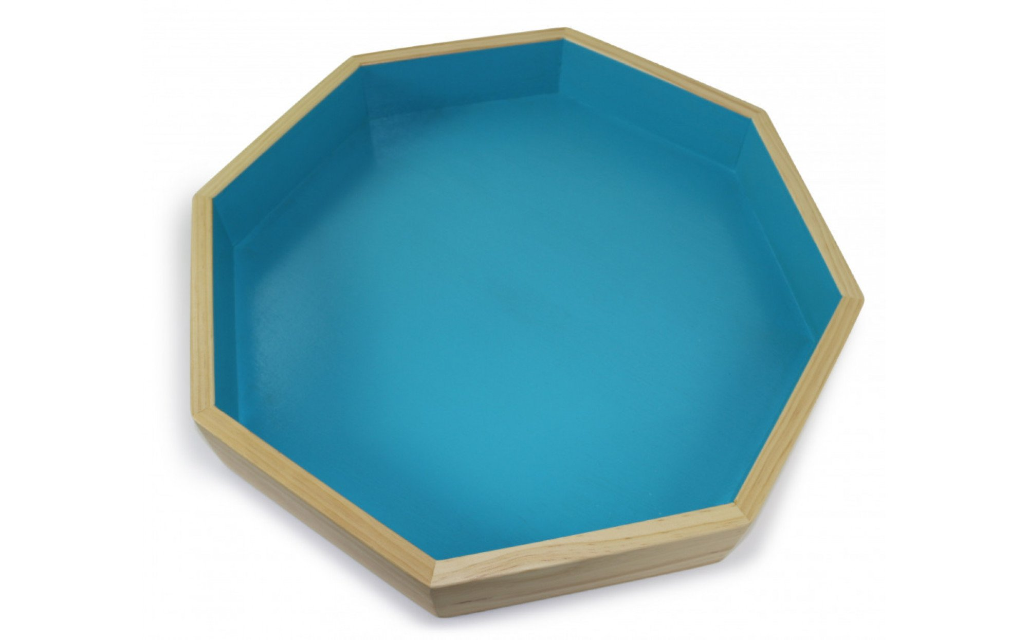 octagonal wooden sand tray with lid sand tray therapy