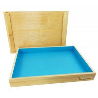 WAREHOUSE DEAL: Basic Wooden Sand Tray with Lid
