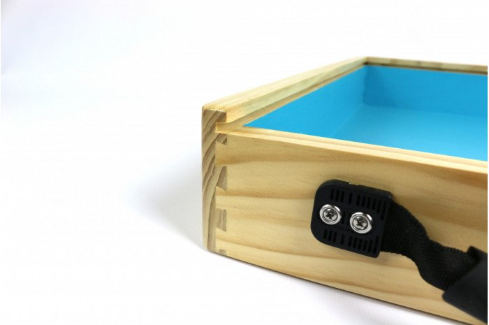 Portable Wooden Sandtray with Lid