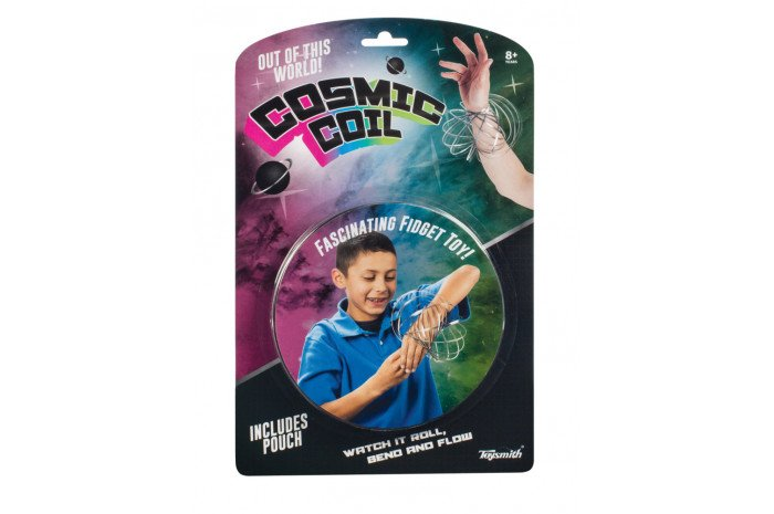 Cosmic Coil (Kinetic Ring Toy)