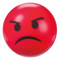 Angry Firm Squeeze Ball